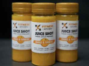 Orange & Turmeric Juice Shot Group